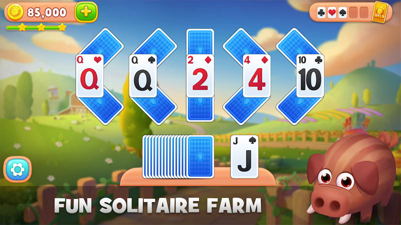 Solitaire Farm - Fun Solitaire Farm