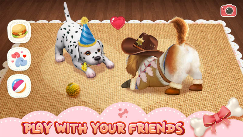 Adopt Puppies - Play With Your Friends