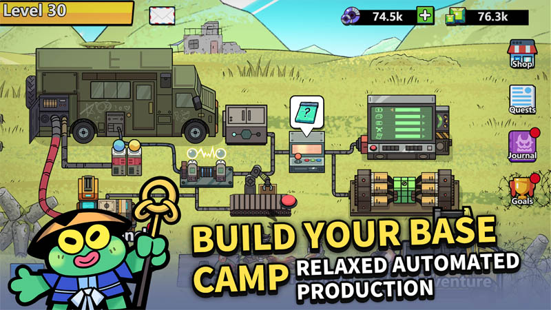 Kumu s Adventure - Build Your Base Camp Relaxed Automated Production