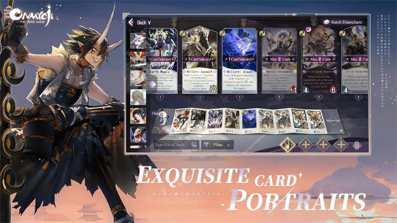 Onmyoji The Card Game - Exquisite Card Portraits