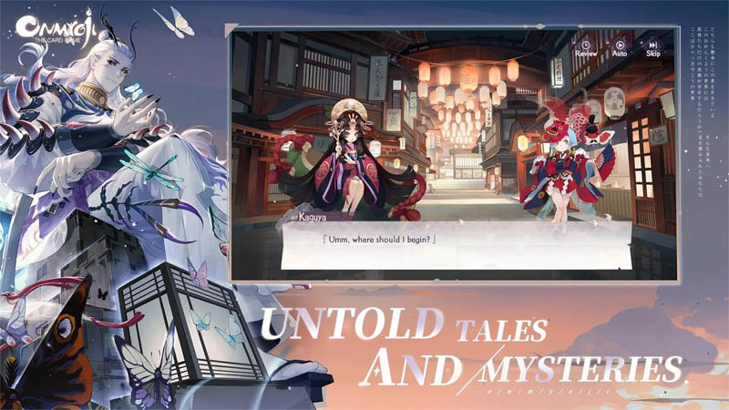 Onmyoji The Card Game - Untold Tales And Mysteries