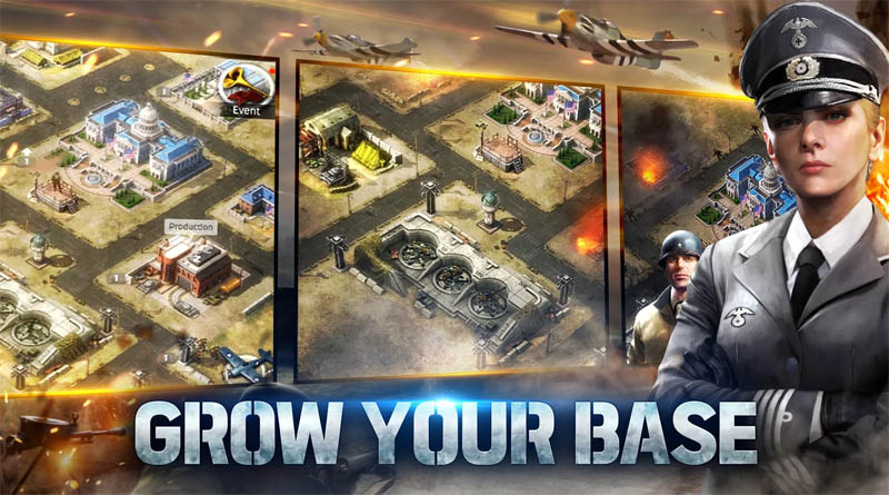 World of War Machines - Grow Your Base