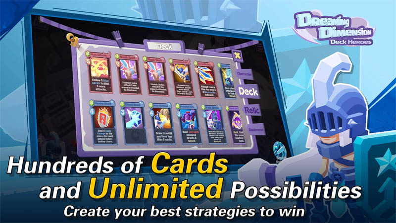 Dreaming Dimension Deck Heroes - Hundreds of Cards and Unlimited Possibilities