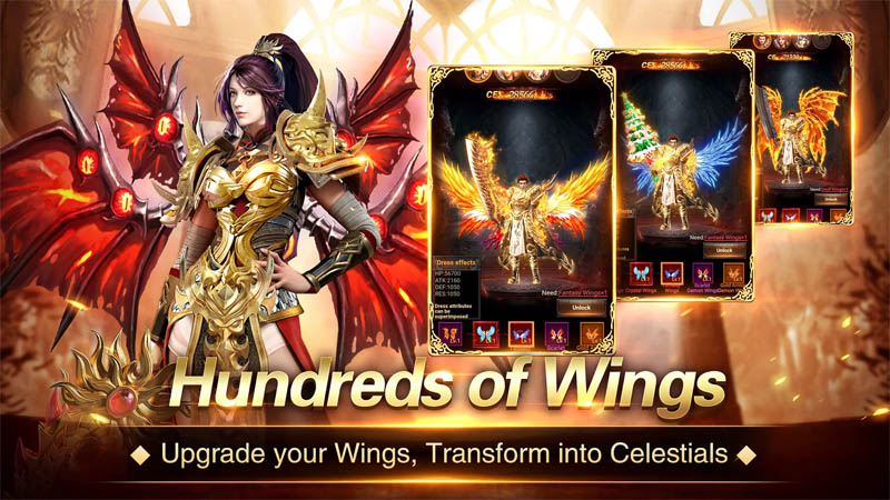 Immortal Legend - Hundreds of Wings