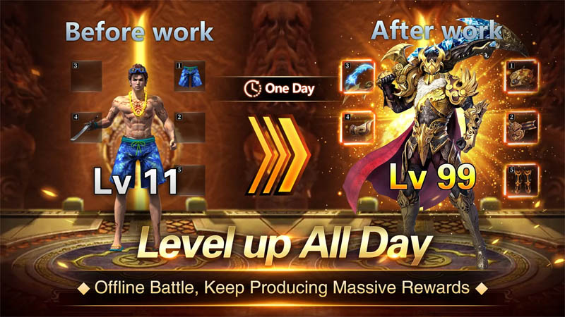 Immortal Legend - Level up All Day