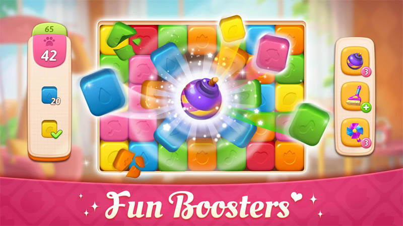 My Story Mansion Makeover - Fun Boosters
