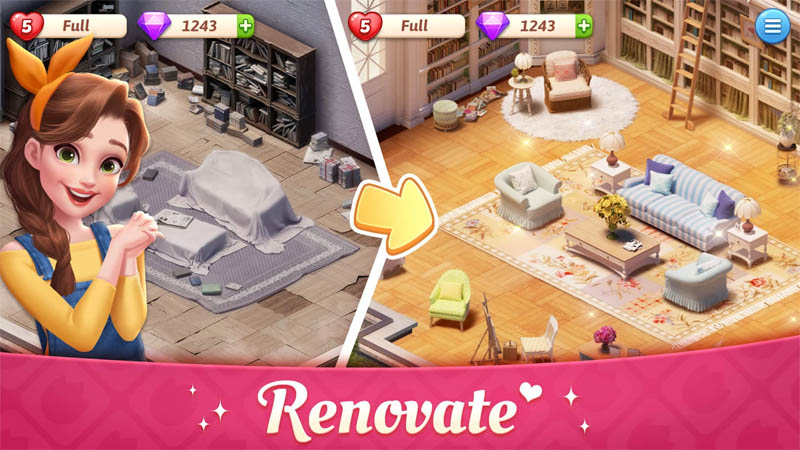 My Story Mansion Makeover - Renovate