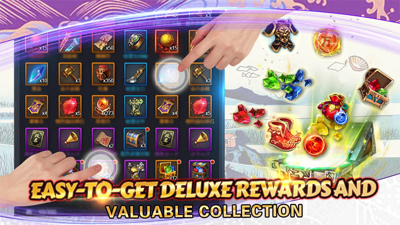 Rise of Heroes Three Kingdoms - Easy To Get Deluxe Rewards