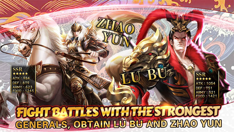 Rise of Heroes Three Kingdoms - Fight Battles With The Strongest