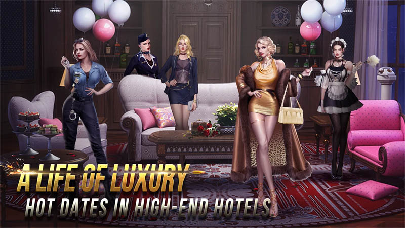 Mafia Crime War - A Life of Luxury Hot Dates in High End Hotels
