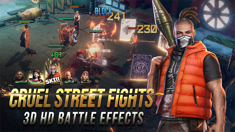 Mafia Crime War - Cruel Street Fights 3D HD Battle Effects