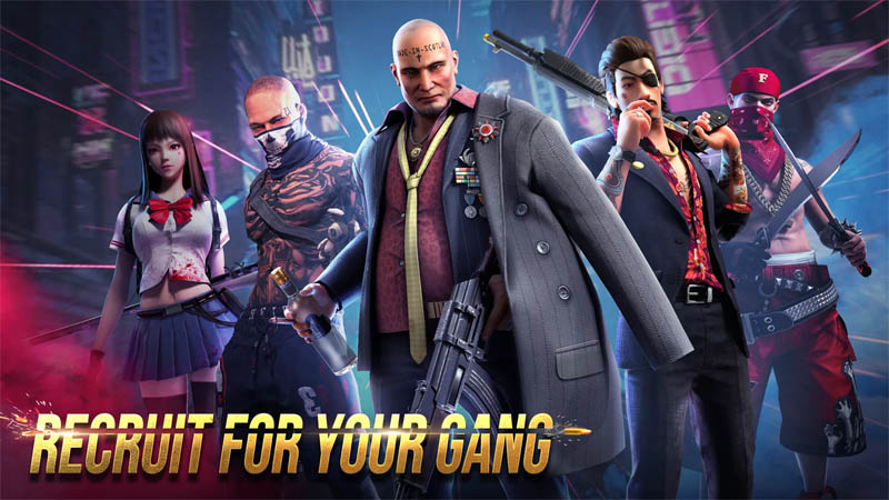 Mafia Crime War - Recruit For Your Gang