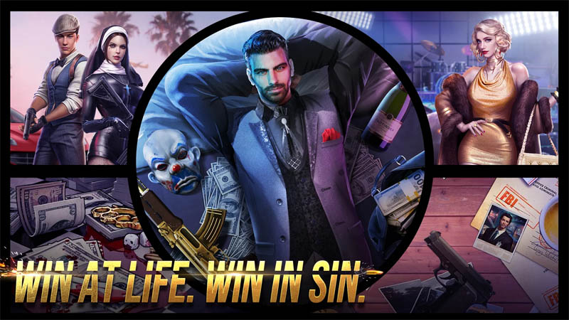 Mafia Crime War - Win At Life Win In Sin