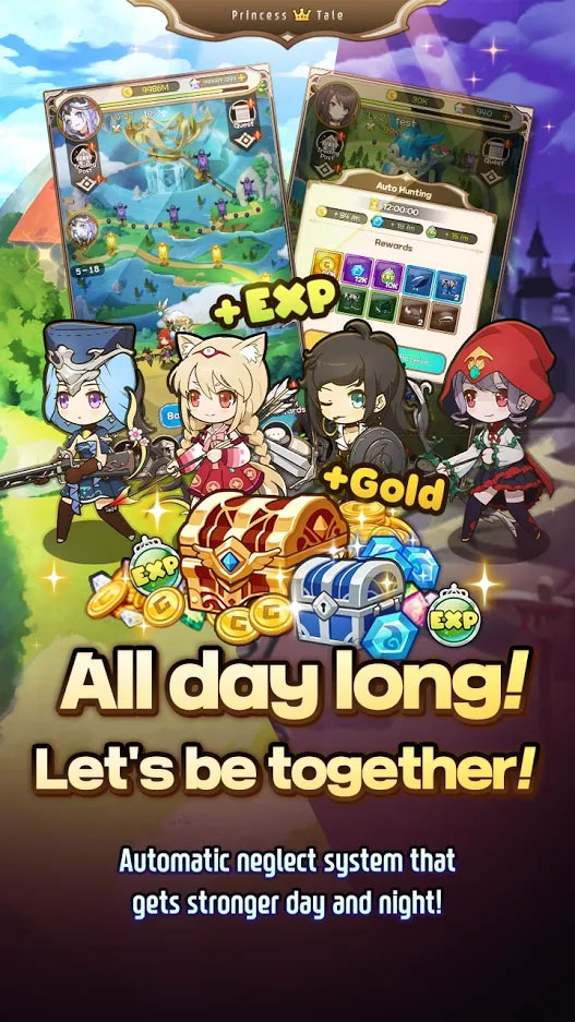 Princess Tale - All day long Lets be together