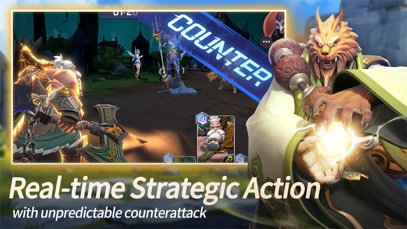 Summoners War Lost Centuria - Real time Strategic Action