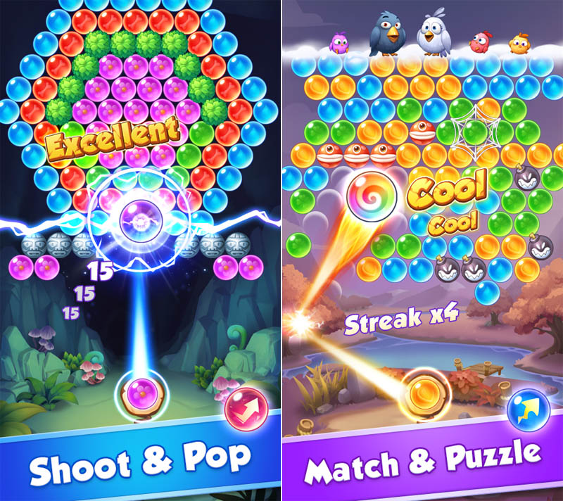 Baby Pop - Match and Shoot