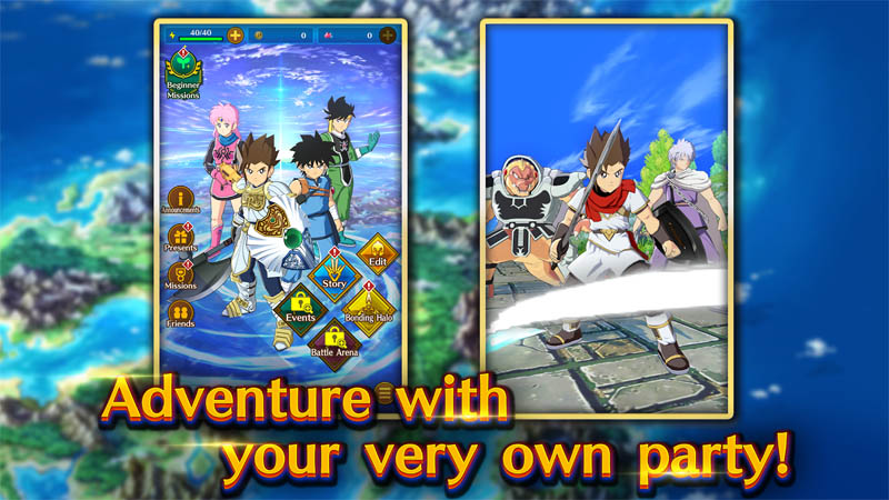 DRAGON QUEST The Adventure of Dai - Adventure with your very own party