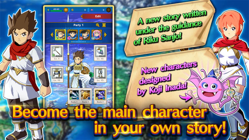 DRAGON QUEST The Adventure of Dai - Become the main character in your own story