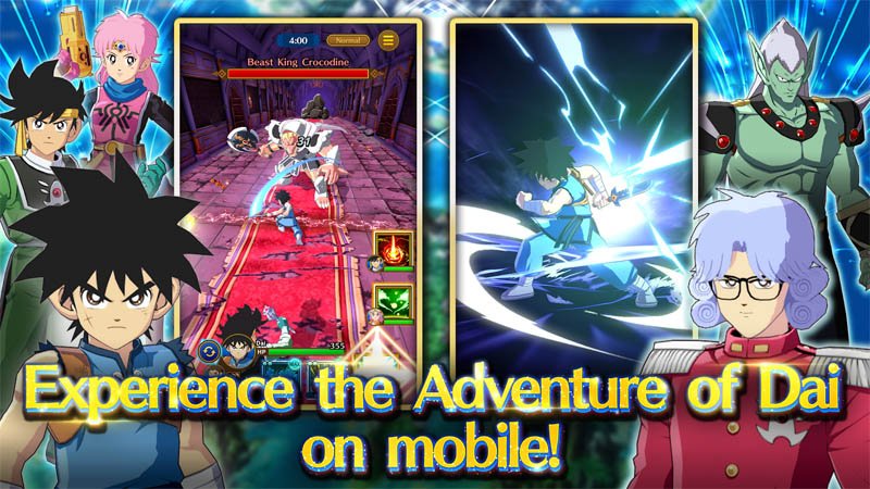 DRAGON QUEST The Adventure of Dai - Experience the Adventure of Dai on mobile