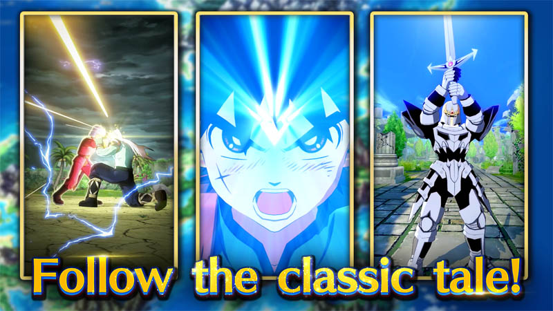 DRAGON QUEST The Adventure of Dai - Follow the classic tale