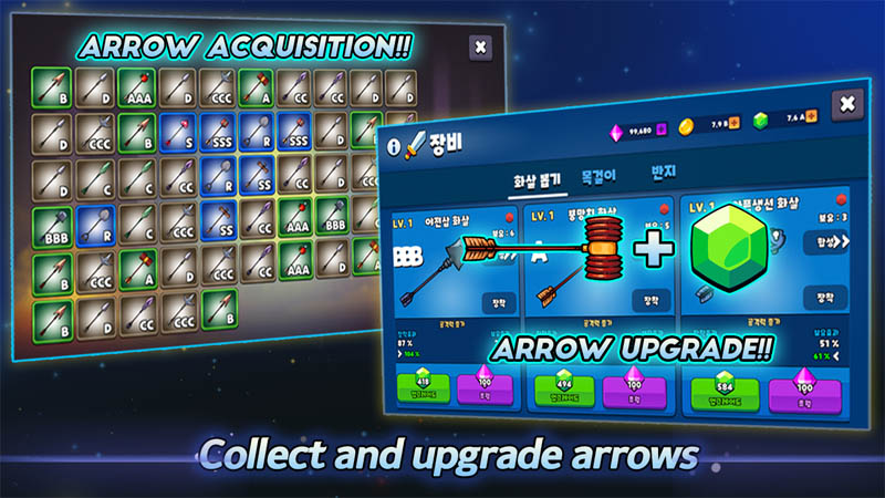 Grow Archer Chaser - Collect and upgrade arrows