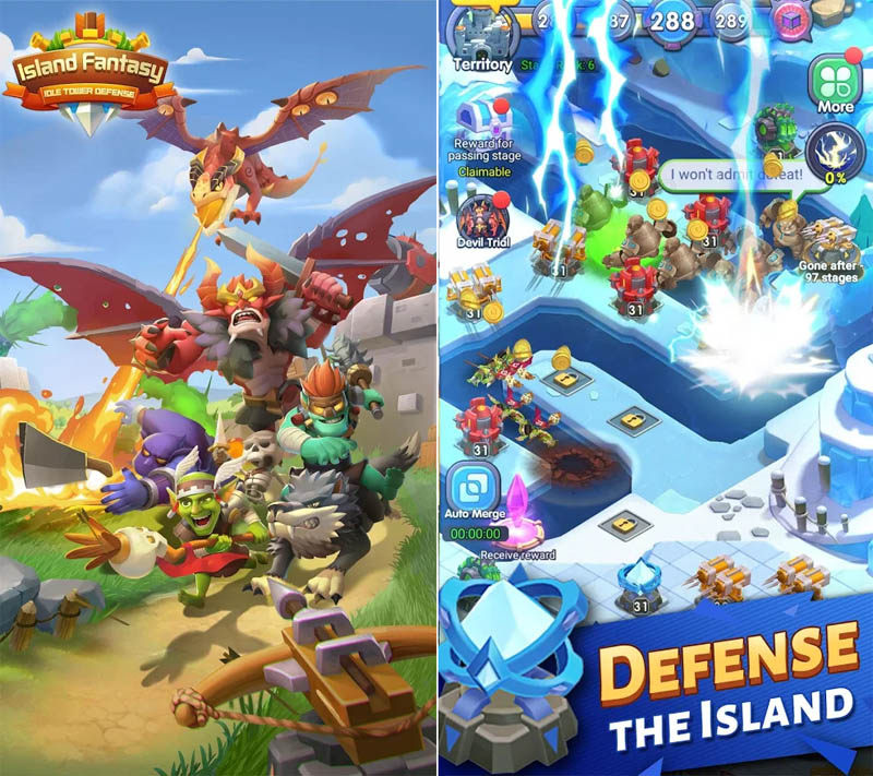 Island Fantasy - Defense The Island