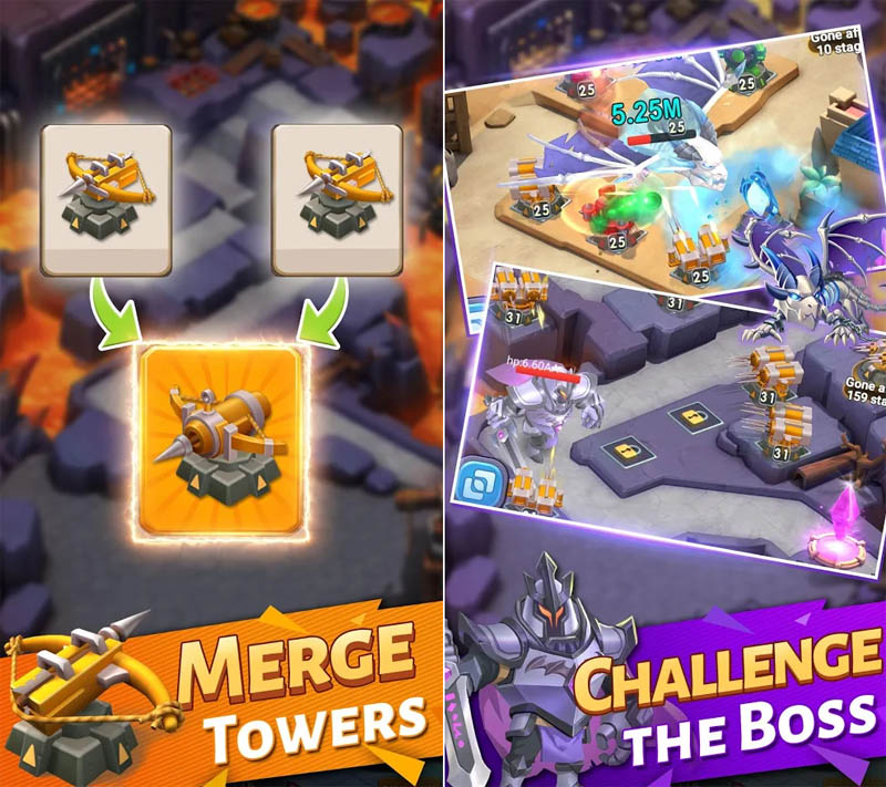 Island Fantasy - Merge Tower Challenge The Boss