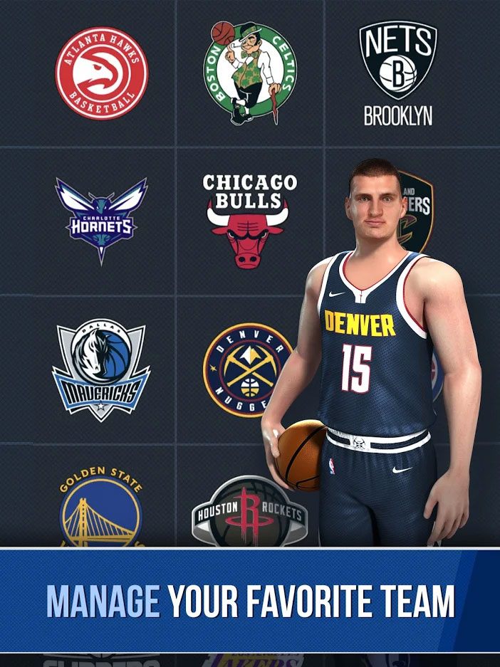 NBA Ball Stars - Manage Your Favorite Team