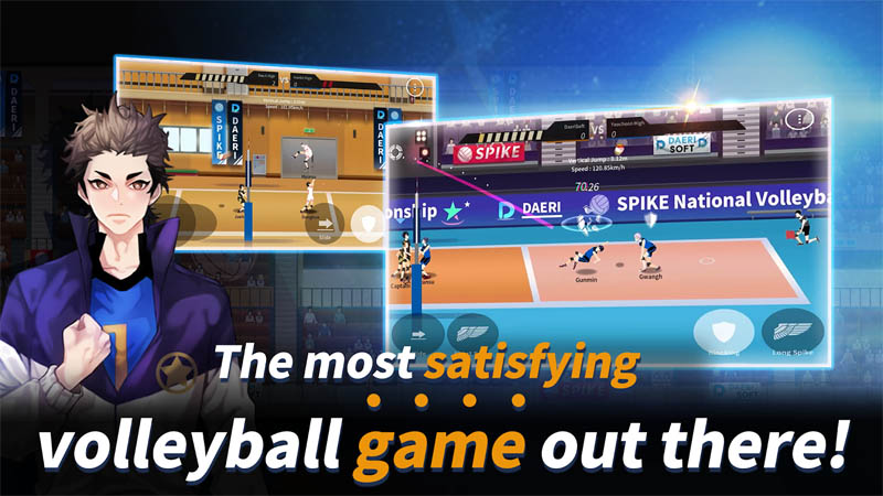 The Spike - Volleyball Story - The most satisfying volleyball game out there
