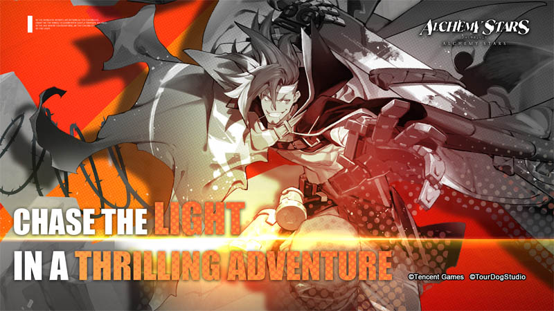 Alchemy Stars - Chase The Light in a Thrilling Adventure