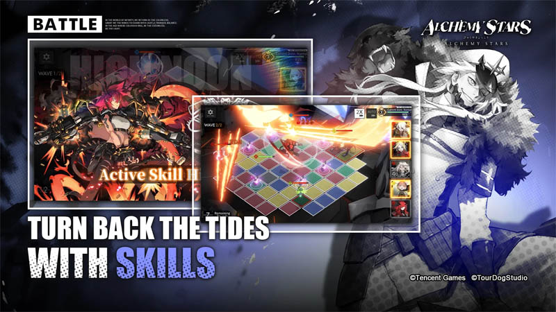 Alchemy Stars - Turn Back The Tides With Skills