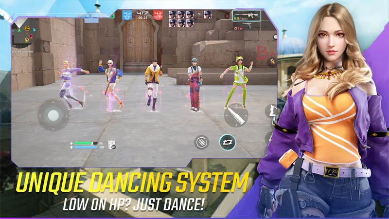 Bullet Angel - Unique Dancing System