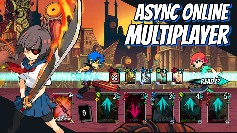 Fighters of Fate - Async Online Multiplayer