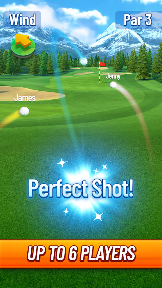 Golf Strike - Up to 6 Players