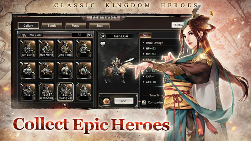 Kingdom Heroes M - Collect Epic Heroes