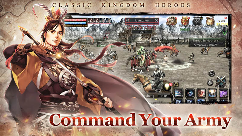 Kingdom Heroes M - Command Your Army