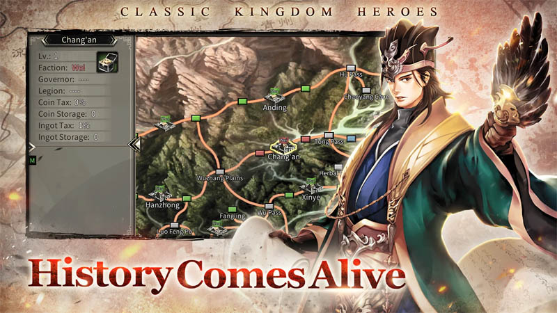 Kingdom Heroes M - History Comes Alive