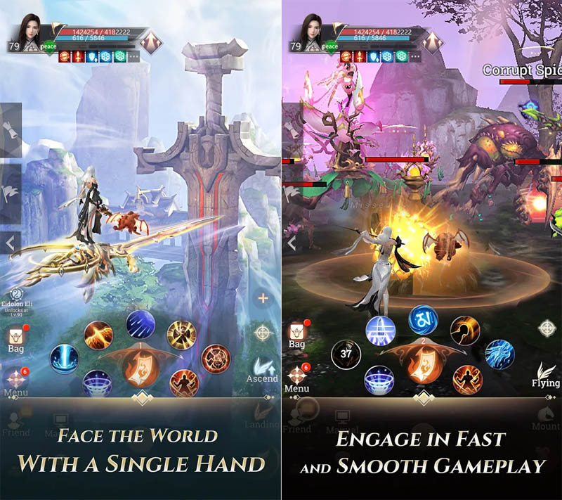 Perfect World Revolution - Face The World With A Single Hand Engage in Fast Smooth Gameplay