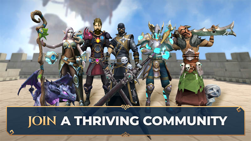 RuneScape - Join A Thriving Community