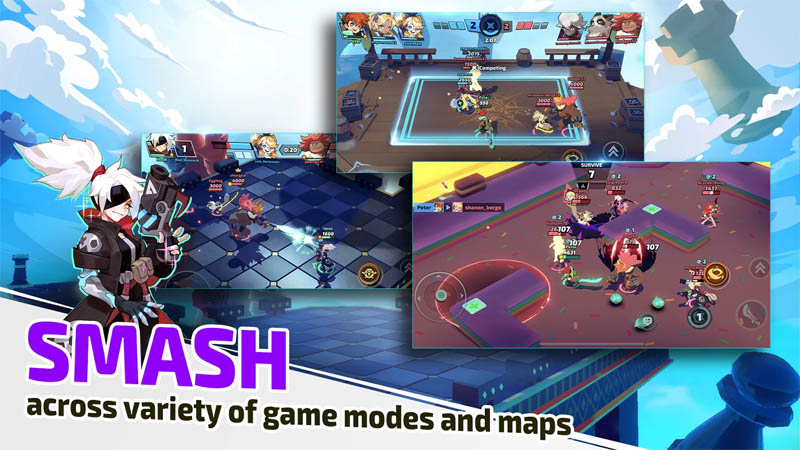 SMASH LEGENDS - SMASH across variety of game modes and maps