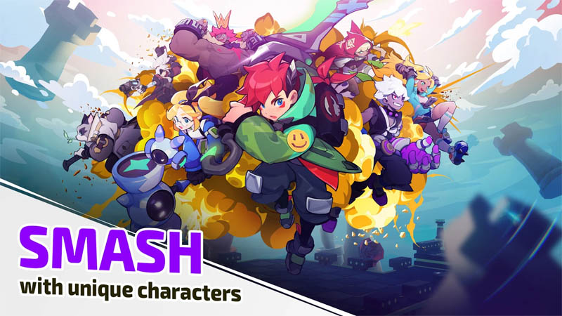 SMASH LEGENDS - SMASH with unique characters