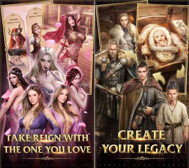 Simure Vikings - Take Reign With The One You Love Create Your Legacy