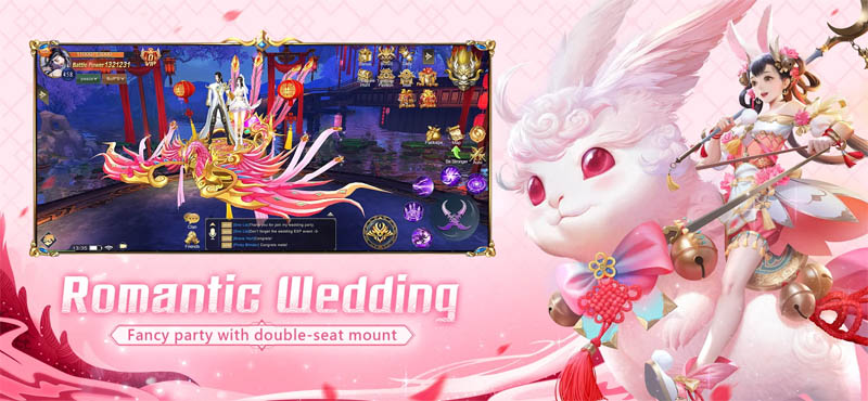 Starsurge Rising - Romantic Wedding