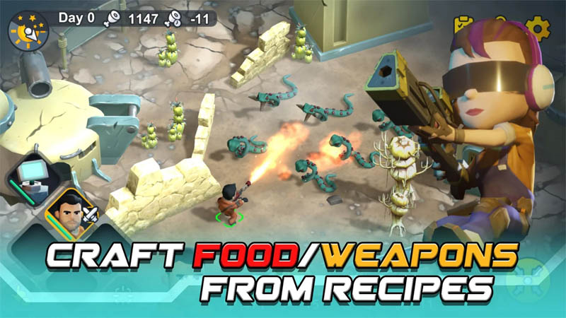 Strange World - Craft Food Weapons From Recipes
