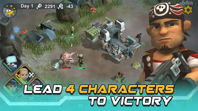 Strange World - Lead 4 Characters to Victory