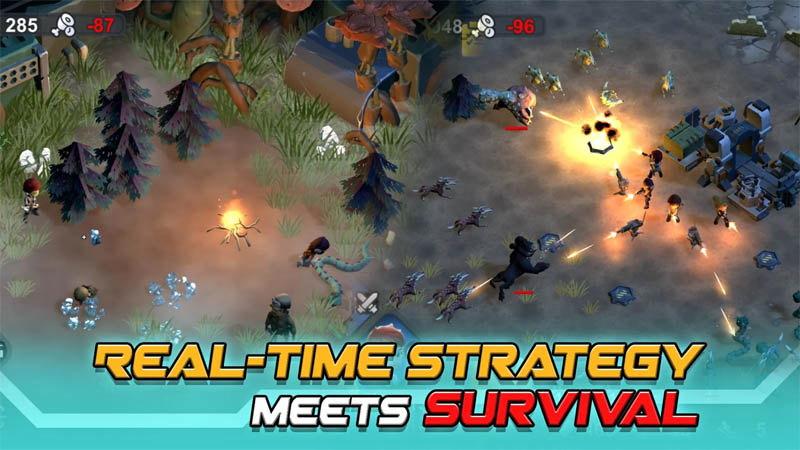 Strange World - Real Time Strategy Meets Survival