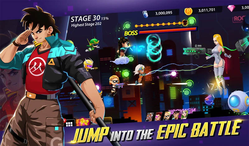 Idle Hero Z - Jump into the Epic Battle
