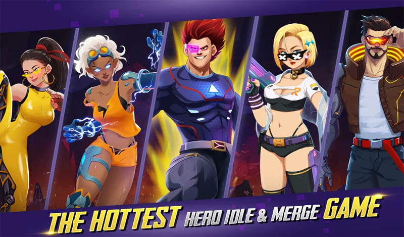 Idle Hero Z - The Hottest Hero Idle and Merge Game