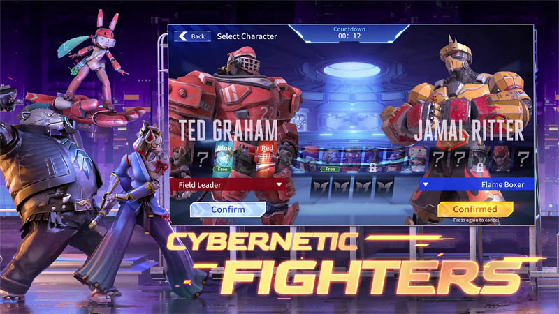 Metal Revolution - Cybernetic Fighters