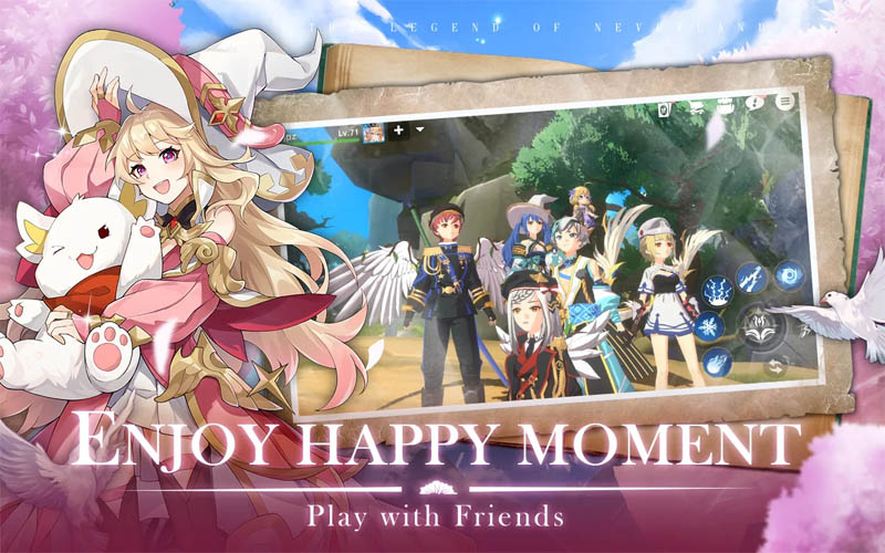 The Legend of Neverland - Enjoy Happy Moment Play With Friends